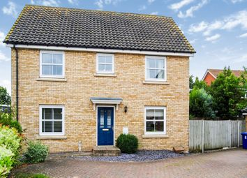 Thumbnail 3 bedroom detached house for sale in Airfield Road, Bury St. Edmunds