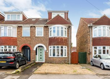 Thumbnail 4 bed end terrace house for sale in Vale Grove, Gosport