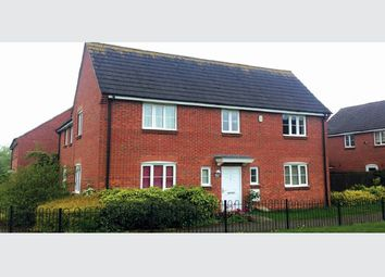 Thumbnail 4 bedroom detached house for sale in Rose Close, Corby