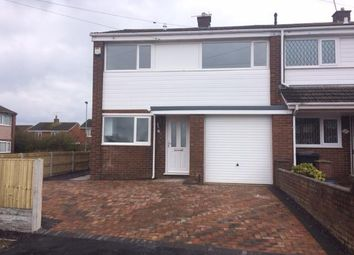 Thumbnail 3 bed end terrace house for sale in Lynfield Close, Connah's Quay, Deeside