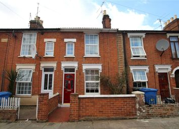 Thumbnail 3 bedroom terraced house for sale in Rendlesham Road, Ipswich, Suffolk