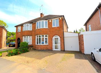 Thumbnail 3 bed semi-detached house for sale in Frankson Avenue, Leicester