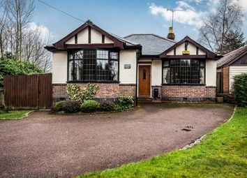 Thumbnail 2 bedroom detached bungalow for sale in Red Lane, Burton Green, Kenilworth
