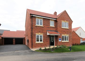 Thumbnail 4 bed detached house for sale in Woodcock Way, Ashby-De-La-Zouch