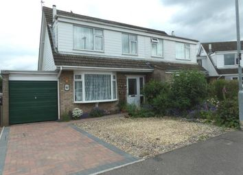 Thumbnail 3 bed semi-detached house for sale in Norwich Close, Shepshed, Leicestershire
