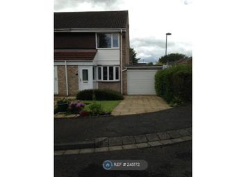 Thumbnail 2 bed end terrace house to rent in Chichester Close, Kingston Park