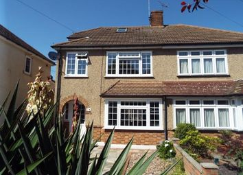 Thumbnail 4 bed semi-detached house for sale in Nightingale Avenue, Cranham, Upminster