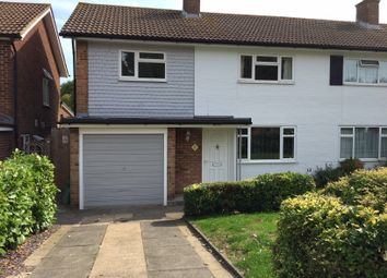 Thumbnail 3 bed semi-detached house to rent in Falconwood Road, Addington, Croydon