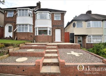 Thumbnail 3 bed semi-detached house for sale in Widney Avenue, Birmingham, West Midlands.