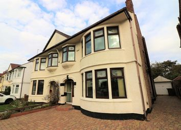 Thumbnail 4 bed semi-detached house for sale in Kirkway, Wallasey