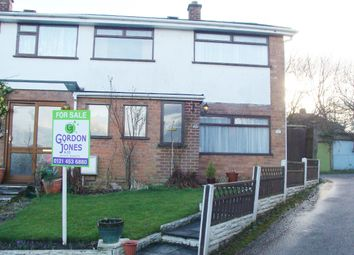 Thumbnail 3 bed semi-detached house for sale in Cleves Drive, Rubery, Rednal