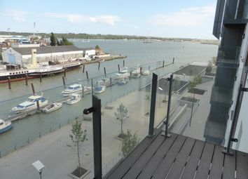Thumbnail 2 bedroom flat to rent in Victory Pier, The Peninsula, Gillingham, Kent