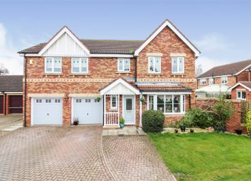 Thumbnail 5 bed detached house for sale in Fern Close, Driffield