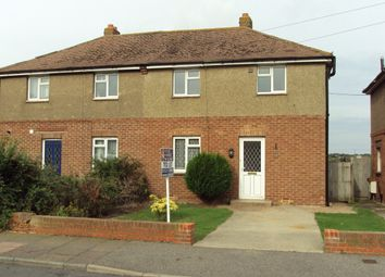 Thumbnail 3 bed semi-detached house to rent in Manor Road, Eastbourne