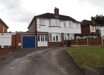 Thumbnail 3 bed semi-detached house for sale in Mackadown Lane, Kitts Green, Birmingham, West Midlands