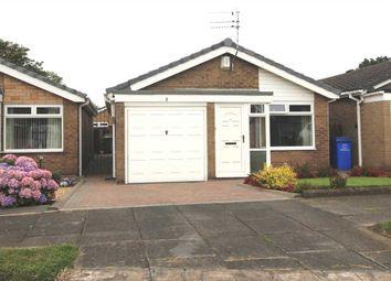 Thumbnail 2 bed bungalow for sale in Gresham Close, Southfield Green, Cramlington