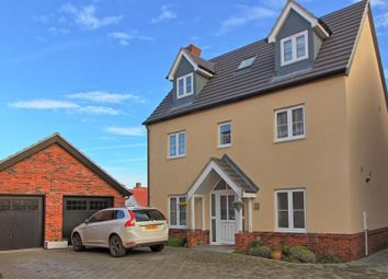Thumbnail 5 bed detached house for sale in Hummerston Close, Buntingford