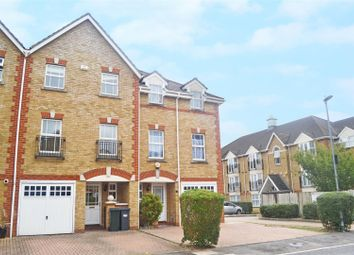 Thumbnail 3 bed town house to rent in Draper Close, Isleworth