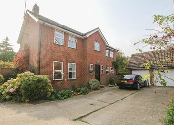 Thumbnail 4 bed detached house for sale in Limefields, Little Walden Road, Saffron Walden