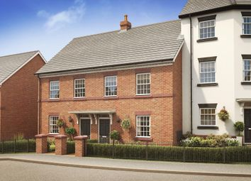 "Thumbnail 3 bed terraced house for sale in ""Calveley"" at Nantwich Road, Tarporley"