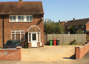 Thumbnail 4 bed semi-detached house to rent in Blandford Road South, Langley, Slough