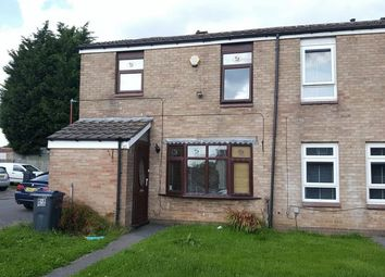 Thumbnail 3 bed end terrace house to rent in Thornthwaite Close, Rubery, Rednal, Birmingham