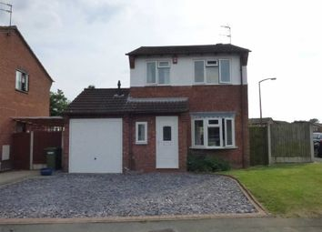 Thumbnail 3 bed detached house for sale in Tyning Close, Pendeford, Wolverhampton