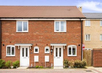 Thumbnail 2 bedroom end terrace house for sale in Crocus Close, Eynesbury, St. Neots, Cambridgeshire