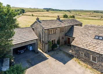 Thumbnail 6 bed farmhouse for sale in Top Of The Hill, Slaithwaite, Huddersfield
