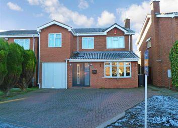 Thumbnail 4 bed detached house for sale in Tiverton Drive, Horeston Grange, Nuneaton