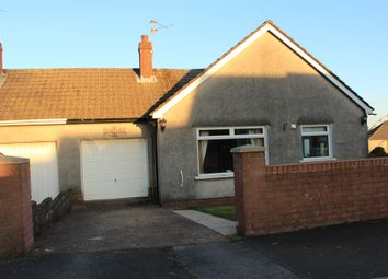 Thumbnail 4 bed semi-detached bungalow for sale in Lon Cae Porth, Cardiff