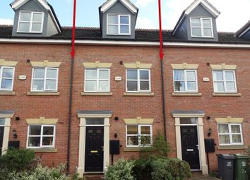 Thumbnail 3 bed town house for sale in Ned Ludd Close, Anstey, Leicester