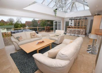 Thumbnail 5 bed detached house for sale in Clayhill Road, Burghfield Common, Reading