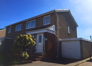 Thumbnail 3 bed semi-detached house for sale in Ballaig Crescent, Millerston, Glasgow