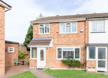 Thumbnail 3 bed end terrace house for sale in Shakespeare Road, Wellingborough
