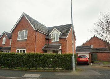 Thumbnail 4 bed detached house for sale in James Atkinson Way, Crewe