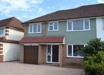 Thumbnail 5 bed semi-detached house for sale in Estridge Way, Tonbridge