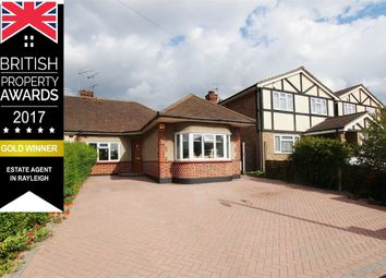 Thumbnail 3 bed semi-detached bungalow for sale in Victoria Avenue, Complete Chain Ahead, Rayleigh, Essex