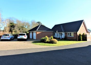 Thumbnail 3 bedroom detached bungalow for sale in Normanston Drive, Lowestoft