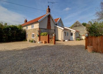Thumbnail 4 bed semi-detached house for sale in Smallworth Common, Garboldisham, Diss