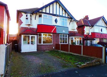 Thumbnail 3 bed semi-detached house for sale in Canterbury Road, Offerton, Stockport, Cheshire