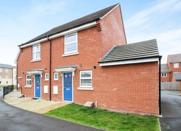 Thumbnail 2 bed semi-detached house for sale in John Fitzjohn Avenue, Aylesbury
