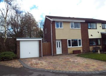 Thumbnail 3 bed semi-detached house for sale in St James Gardens, Leyland