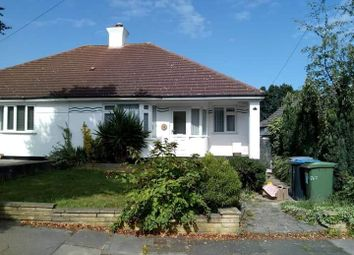 Thumbnail 3 bed bungalow to rent in Woodhill Crescent, London