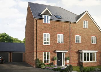 "Thumbnail 4 bedroom semi-detached house for sale in ""The Elsdon"" at Saunders Way, Basingstoke"