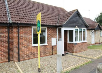 Thumbnail 2 bedroom terraced house for sale in Grundle Close, Stanton, Bury St Edmunds, Suffolk
