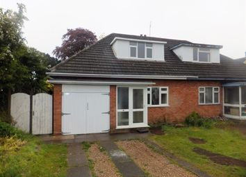 Thumbnail 3 bed semi-detached bungalow to rent in Mere Drive, Four Oaks, Sutton Coldfield