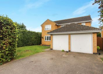 Thumbnail 4 bed detached house for sale in Coniston Close, Stukeley Meadows, Huntingdon
