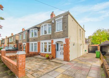 Thumbnail 3 bed semi-detached house for sale in St. Anthony Road, Heath, Cardiff