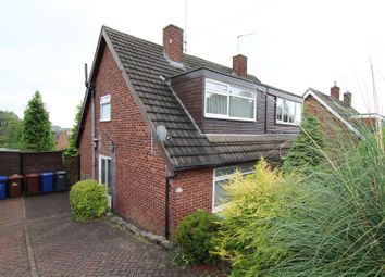 Thumbnail 3 bed semi-detached house for sale in Church Close, Burton-On-Trent